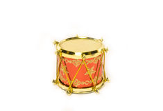 Little drum christmas decoration Royalty Free Stock Images