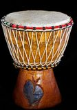 Little drum from wood Stock Images