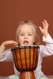 Little drummer Stock Photo