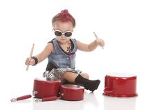 Little Drummer Stock Photography