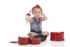 Little Drummer Stock Images