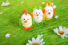 Little Easter chicks stock photo