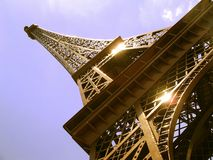Little Eiffel tower. In Austin, Texas Royalty Free Stock Photos