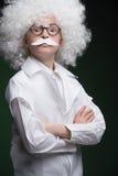 Little Einstein. Royalty Free Stock Photos