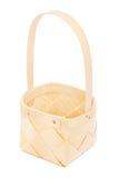 Little Elm Wooden Basket Stock Images