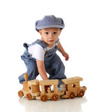 Little Engineer Stock Image