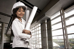 Little engineer Stock Photography