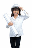 Little Engineer Royalty Free Stock Image