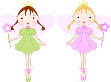 Little fairies stock illustration