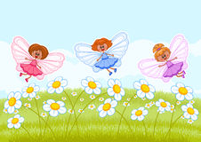 Little fairies Stock Image