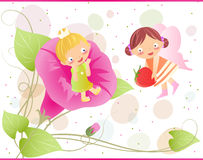 Little fairies Stock Photography