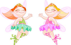 Little fairies Royalty Free Stock Photography