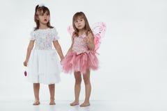 Little fairies stock image