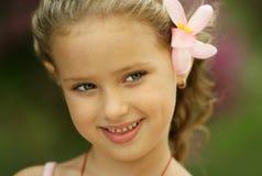 Little Fairy. Beauty girl like little Fairy Royalty Free Stock Images