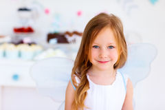 Little fairy on birthday party Royalty Free Stock Photography
