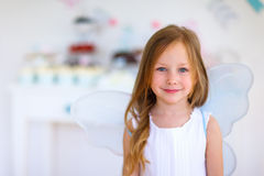 Little fairy on birthday party Stock Photos