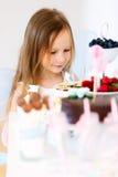 Little fairy on birthday party Stock Image