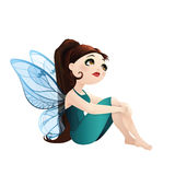 Little fairy dreamer Stock Photos