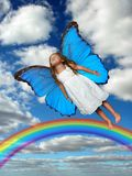 Little Fairy Flying Royalty Free Stock Photo