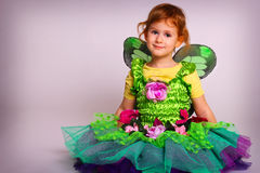 Little fairy girl Royalty Free Stock Image