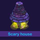 Little fairy house with strange inhabitants Stock Photography