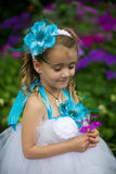 Little fairy in a tutu. Stock Image