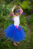 Little fairy in a tutu. Royalty Free Stock Photos