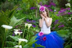 Little fairy in a tutu. Stock Photo