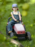 Little farmer Stock Image