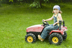 Little farmer Stock Images