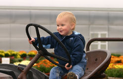 Little Farmer Royalty Free Stock Photography