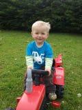 Little farmer Royalty Free Stock Image
