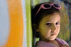 Little fashion girl Royalty Free Stock Image