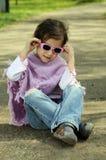Little fashion girl Royalty Free Stock Photo