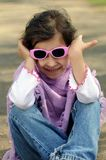 Little fashion girl Royalty Free Stock Photos