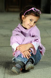 Little fashion girl Royalty Free Stock Image