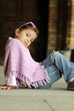 Little fashion girl Royalty Free Stock Photography