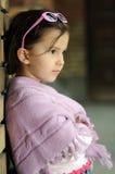 Little fashion girl Stock Photos