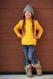Little fashion girl Stock Photo