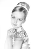 Little fashion kid girl Royalty Free Stock Photo