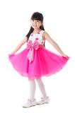 Little fashion model. Portrait of a lovely asian girl Stock Images