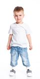 Little fashionable boy Royalty Free Stock Photography