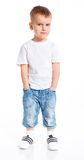 Little fashionable boy Royalty Free Stock Photos