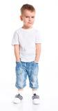 Little fashionable boy Royalty Free Stock Photos