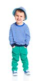 Little fashionable boy Stock Photo