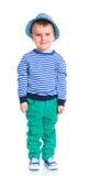 Little fashionable boy Stock Images