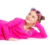 Little fashionable girl Stock Photo