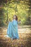 Little fashionable girl Royalty Free Stock Photos
