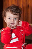 Little fashionista posing Royalty Free Stock Photo