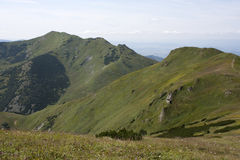Little Fatra mountains. Green and rocky mountains Stock Image